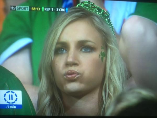 Irish girl-fan